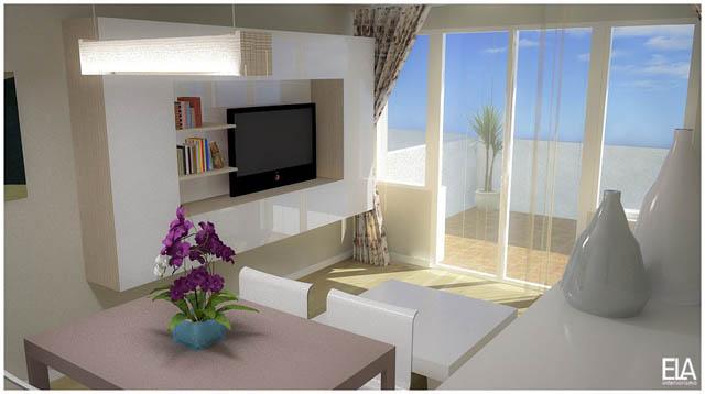 3d salones ela interiorismo for Interiorismo salones