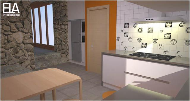 3d cocinas ela interiorismo for Programa para cocinas 3d gratis
