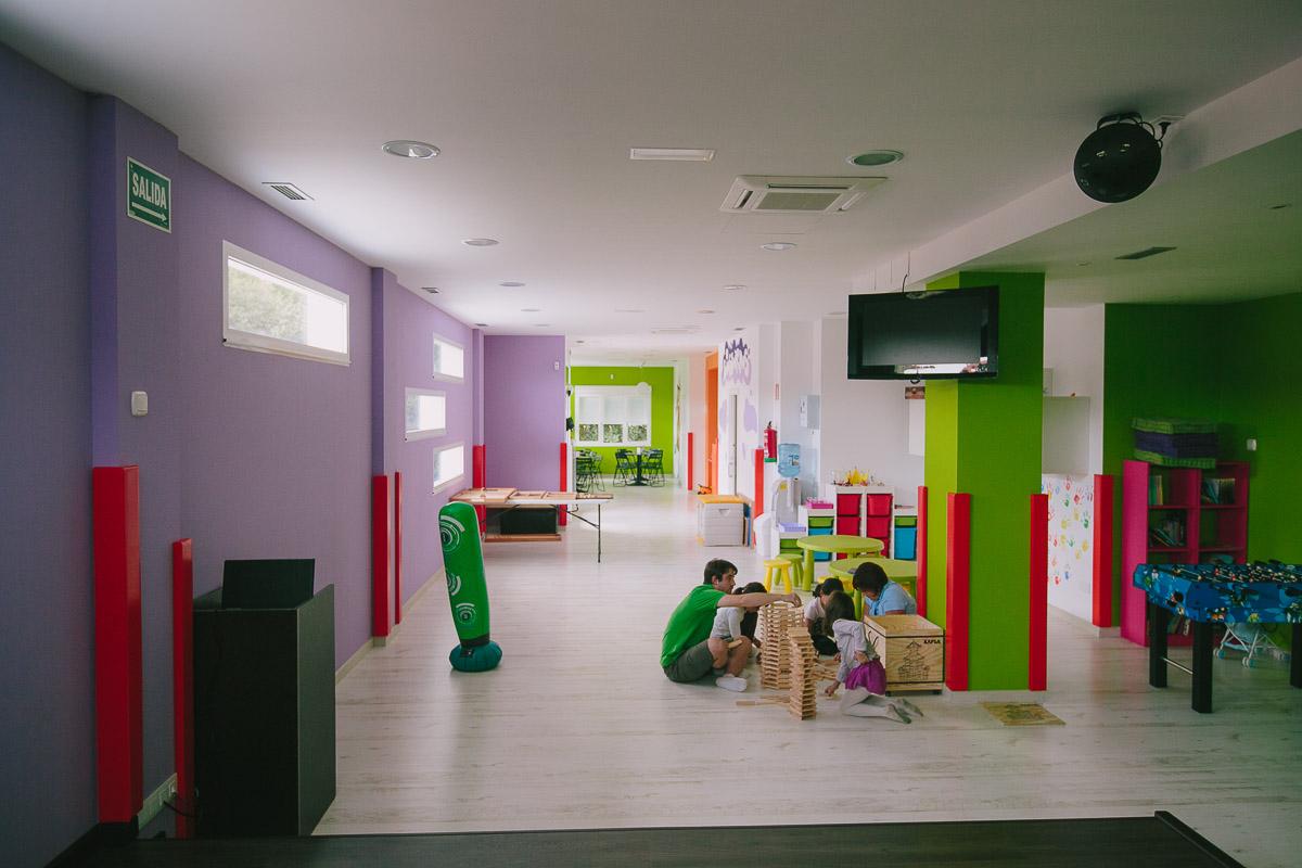 Jard n infantil biosbardos ela interiorismo for Jardin infantil