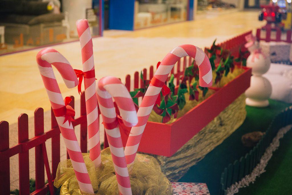 Navidad hecho a mano, Diseño de ELA Interiorismo, Diseño de casita de Elfos, Navidad 2017